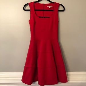 Banana Republic Red Cocktail Dress